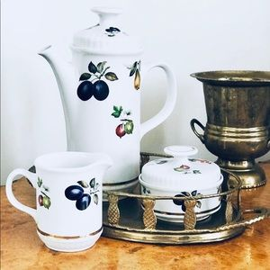 Porcelain tea set from England